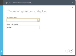github-choose-a-repository-to-deploy